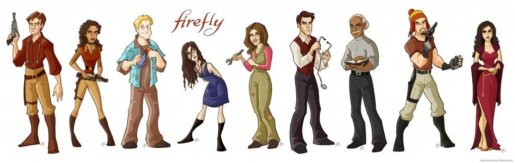 firefly veikejai