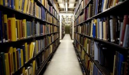"Millions of books from the collection of the New York Public Library (NYPL) are stored in an area known as the ""stacks"" under Bryant Park, adjacent to the library's main branch, in New York, U.S., on Tuesday, March 11, 2008. Stephen Schwarzman, chairman of Blackstone Group LP, pledged $100 million to the NYPL, which will rename its main Manhattan building on Fifth Avenue after him. $100 million is the largest ever guaranteed donation to a New York cultural organization. Photographer: Ramin Talaie/Bloomberg News"
